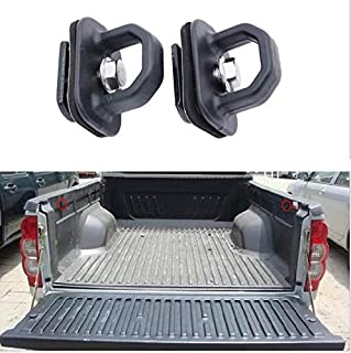 Truck Tie Down Anchors Tie Down Hooks for Truck Bed Fits 2007-2018 Chevy Silverado/GMC Sierra,2015-2018 Chevy Colorado/GMC Canyon ——1Pair