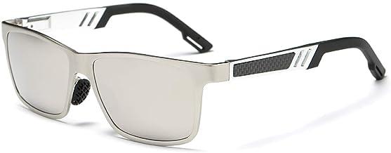 Classic Oversized Polarized Men Big Square Sport Aluminum Drving Riding Cycling Sunglasses