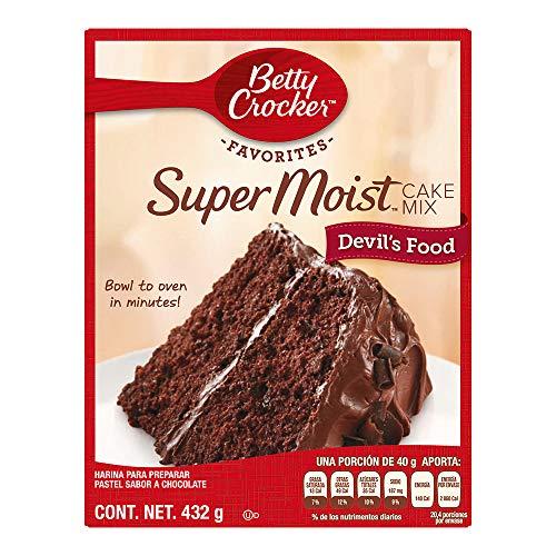 pasteles chedraui marca Betty Crocker