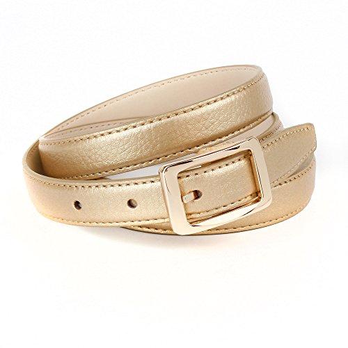 Anthoni Crown A4WETG3 Cintura, Oro (Beige-Gold 034), 100 cm Donna