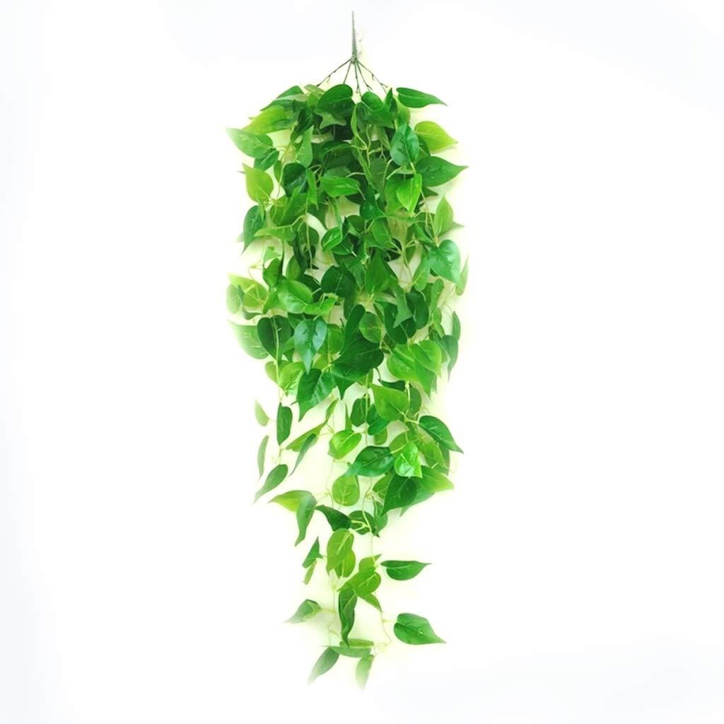 45cm artplants.de Branche de ficus Artificielle AJITH Branche d/écorative 60 Feuilles Vertes Feuillage Artificiel