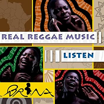 Listen / Real Reggae Music (Double a Side Single)