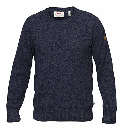 FJÄLLRÄVEN Övik Re Wool Sweater Sweatshirt - Herren XXL Dunkelblau