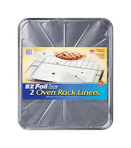 """E-Z Foil Oven Liner Dw Safe 0.5"""" Aluminum 600 Deg F"""
