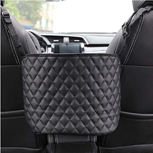 Bolsa de malla para el coche, organizador para el asiento lateral del coche, malla de poliuretano, bolsa de almacenamiento para el coche