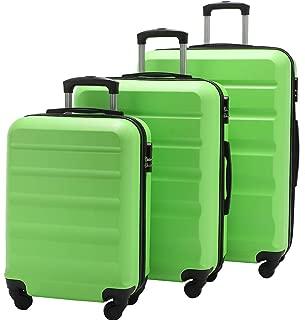 skyline 3pc hardside luggage set