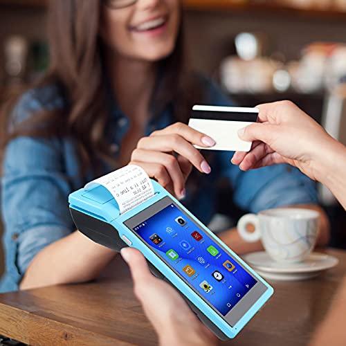 Changor Mini Impresora incorporada, Tarjeta de Memoria de la Tarjeta de Memoria 0.8W 5.5 (Pulgada) (Azul)