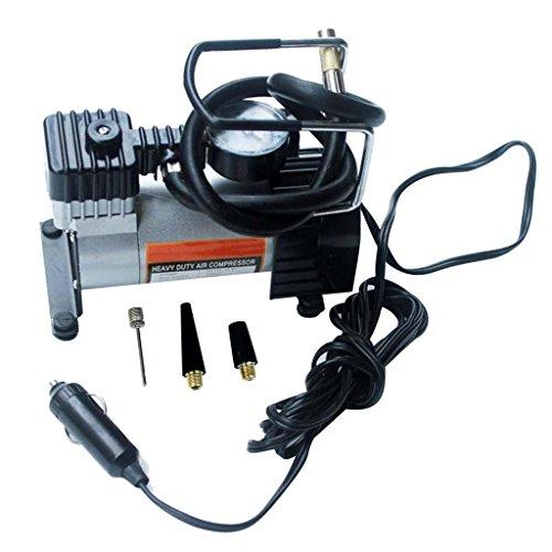 LOVIVER 12V Auto Elektrik Mini KOMPAKT Kompressor PUMPE Reifen LUFTAUFBLASER 150PSI + Kabel
