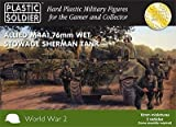 Plastic Soldier 15mm Allied M4A1 76mm Wet Stowage by Plastic Soldier Company
