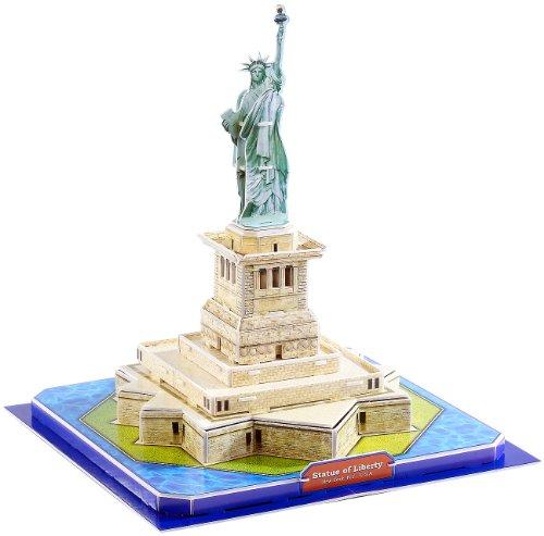 Playtastic Gebäude Puzzle: 3D-Puzzle Freiheitsstatue (Kinder Spielzeug)