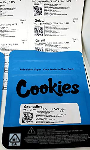 Review Huge Deal, (60) Stick on Labels for Cookies of SF Mylar bags, with scan-able QR Codes, FREE P...