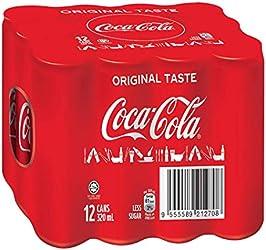 Coca-Cola Original Taste, 320 ml, (Pack of 12)