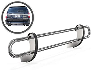 VANGUARD VGRBG-1070-1069SS Multi-fit Rear Bumper Guard Stainless Steel Double Tube Style