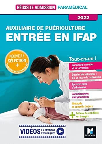 Réussite Admission - Auxiliaire de puériculture - Entrée en IFAP - 2022