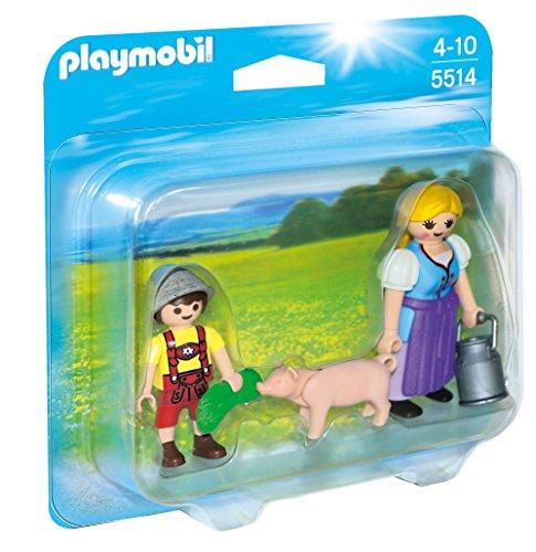 PLAYMOBIL Duo Pack: Campesina y niño Figuras