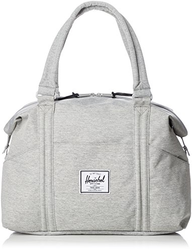 Herschel Strand Shoulder Bag, Light Grey Crosshatch, Classic 28.5L