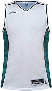 斯伯丁SPALDING经典篮球比赛服 宽松透气篮球衣男士无袖运动背心20079