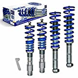 JOM Euro Height Adjustable Coilover Suspension Lowering Kit For BMW 5 Series E60 - Adjustable 20-90mm / 0.8'-3.54'