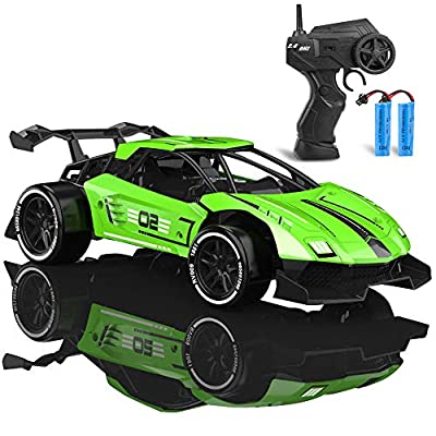 iBliver Remote Control Car 1:16 Scale RC Racing Cars 2.4GHz 60 Min Play Metals High Speed Electric Sport Racing Hobby Toy Car Vehicle Gifts for Boys Girls Kids Toy by QUN SHUN TOYS FACTORY iblive info