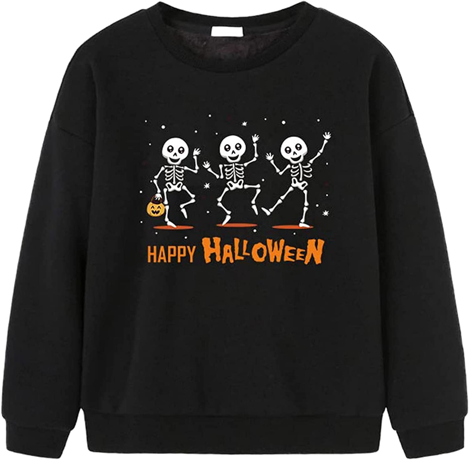 2021 latest Children's Halloween Casual Stylish 100% quality warranty Pullover Long-Sleeved