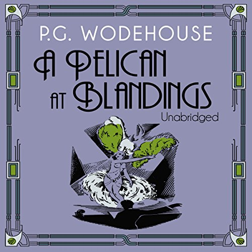 A Pelican at Blandings audiobook cover art
