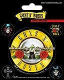1art1 Guns N' Roses - Logo De La Bala, Set De Pegatinas De Vinilo Vinilo Decorativo Pegatina Autoadhesivo (12 x 10cm)