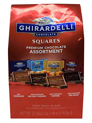 Ghirardelli Chocolate Squares Premium, Chocolate Assortment, 23.8 Ounce