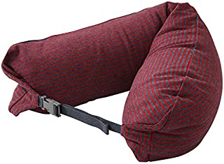 LBMUJI 【Counter genuine】 MUJINeck pillow neck pillow for airplane travel neck pillow for car Sofa pillow U-pillow (Specifications 16x67cm, Hemp bars)