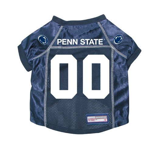 Penn State Nittany Lions Premium NCAA Pet Dog Jersey w/ Name Tag LARGE
