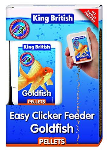 King British Goldfish Pellets Easy Clicker Feeder, 26 g
