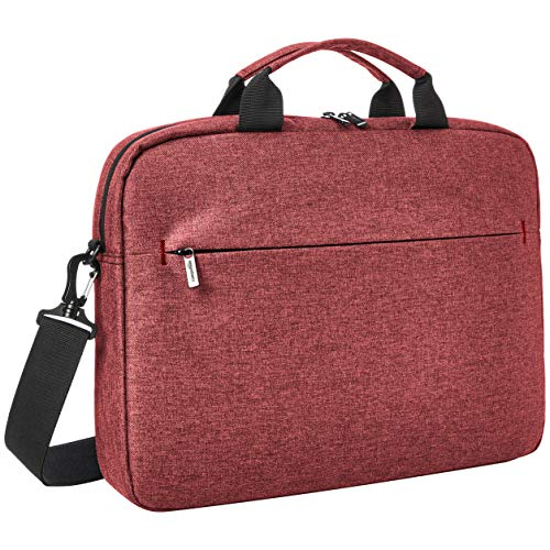 AmazonBasics Urban Laptop and Tablet Case Bag, 15 Inch, Maroon