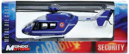 MONDO MOTORS - A0801325 - Véhicules miniatures - Hélicoptère de sécurité française 1/60e - Modèle aléatoire