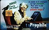 Prophila Collection Francia 2680 120 Unidades Oma con Papagei (Tarjetas Telefónicas para los coleccionistas) aves
