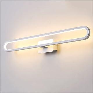 Led Mirror Front Lights, Nordic Creative Bathroom Waterproof Moisture-Proof Dressing Table Makeup Bedroom Wardrobe Lightin...