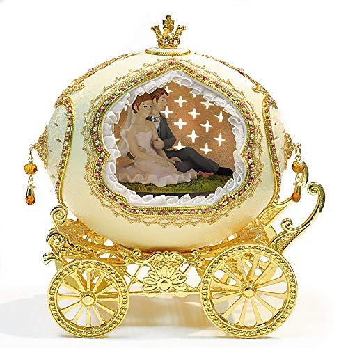Music Box Music Box Music Box Modieuze Verjaardag Christmas Gift romantische Verjaardagscadeau kerstcadeau doos trouwdag ZHQHYQHHX (Color : 01, Size : Castle in the Sky)