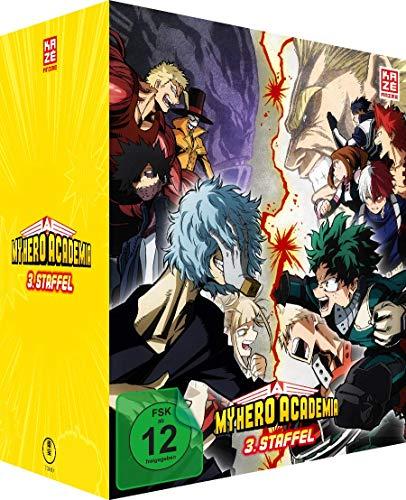 My Hero Academia - Staffel 3 - Vol.1 - [DVD] mit Sammelschuber