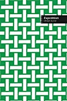 Expedition Lifestyle Journal, Wide Ruled Write-in Dotted Lines, (A5) 6 x 9 Inch, Notebook, 288 pages (144 shts) (Green)