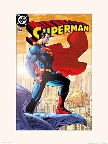 Grupo Erik Lámina Decorativa, Superman-Vol 2 No.204, 30 x 40 cm