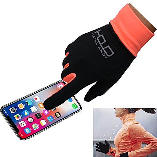 PRISAFETY Handlandy Lightweight Running Gloves, Touchscreen Jogging Gloves for Women & Men