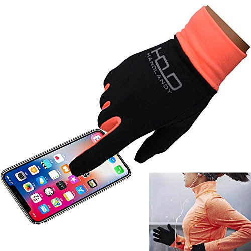 PRISAFETY Handlandy Lightweight Running Gloves, Touchscreen Jogging Gloves for Women & Men