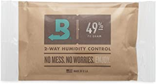 Boveda for Music | 49% RH 2-Way Humidity Control Replacement for Use in Fabric Holder | Size 70 for Fretted and Bowed Wood Instruments | Prevents Cracking and Warping | 1-Count