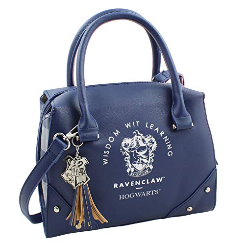 Harry Potter Purse Designer Handbag Hogwarts Houses Womens Top Handle Shoulder Satchel Bag Ravenclaw