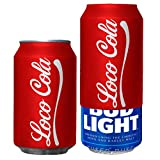 Beersy Can Cover Silicone Sleeve Hide a Beer to Look Like Soda (Loco-Cola)