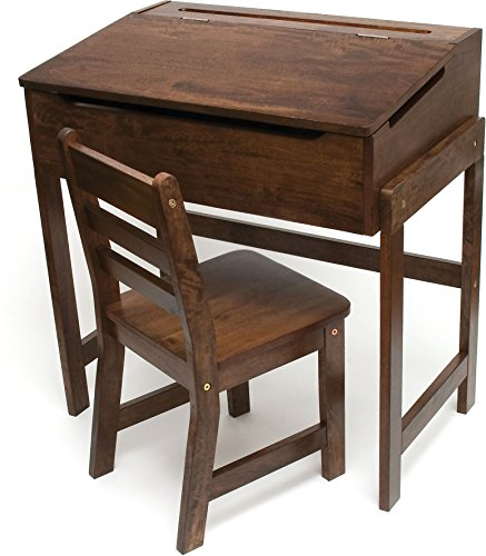 Awesome Lipper International Childs Slanted Top Desk And Chair Short Links Chair Design For Home Short Linksinfo