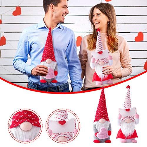 YUY Día De San Valentín sobre De Amor Muñeca Sin Rostro Estatuilla Juguete Infantil Decoración Regalo De San Valentín,L-Women