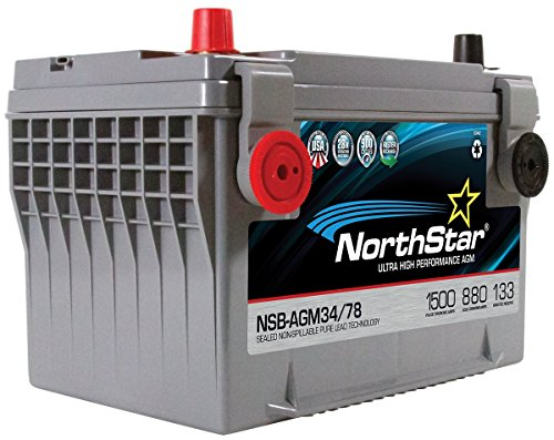NORTHSTAR Pure Lead Automotive Group 34/78 Battery