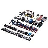 Lopbinte 45 Piezas/Juego Placa del MóDulo Sensor para Raspberry Pi Kit de Inicio de MóDulo de Sensor Actualizado de EducacióN DIY