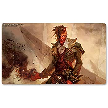 Tibalt The Fiend Blooded - Board Game MTG Playmat Table Mat Games Size 60X35 cm Mousepad Play Mat for Yugioh Pokemon Magic The Gathering