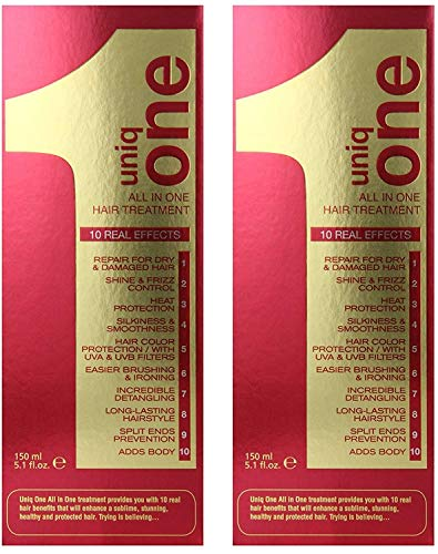 Price comparison product image Uniq One All-in-One Hair Treatment 5.1oz / 150ml (Set of 2)