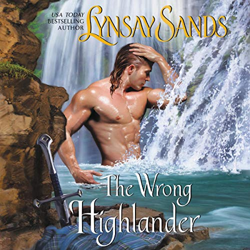 The Wrong Highlander audiobook cover art